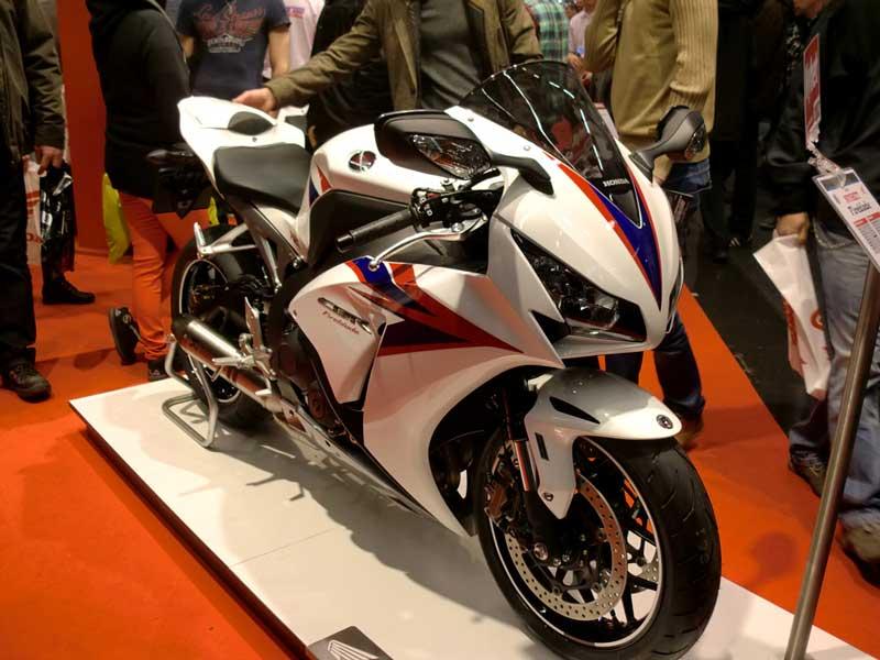 Honda Fireblade 1000cc 2012