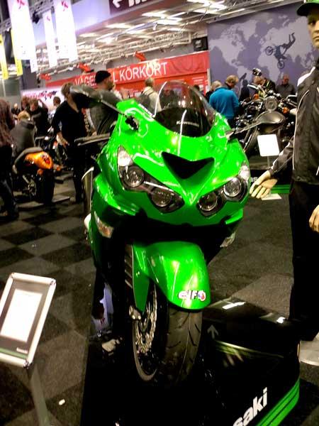 Kawasaki ZZR1400 2012