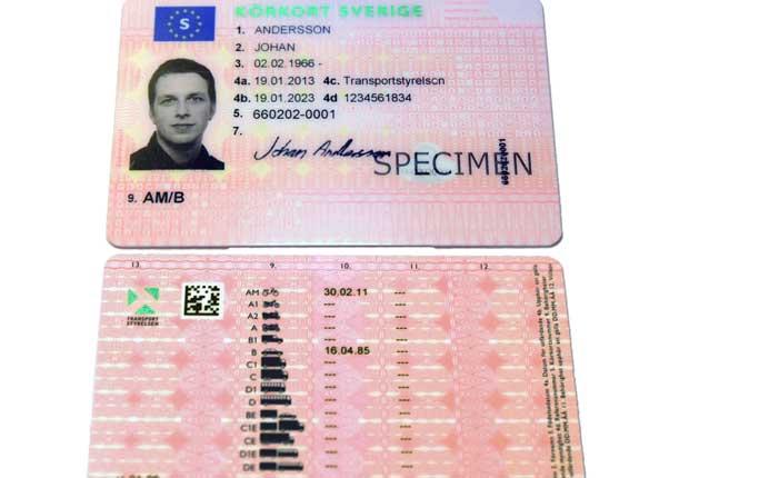 Nytt körkort 2013 Nytt körkort och körkortsregler 2013