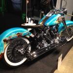 Harley Davidson flickan motivlack 150x150 Bilder MC mässan 2013